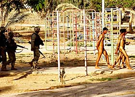 Stripped naked and humiliated by US soldiers
