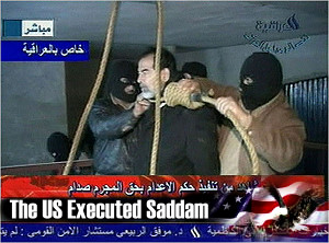 Saddam Hussein was executed by the U.S government