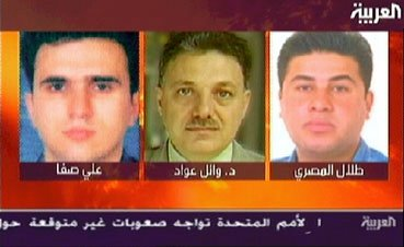Iraqi journalists were among those killed